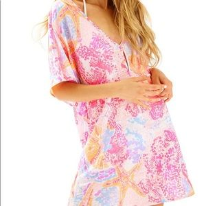 Lilly Pulitzer Balleta Coverup NWT